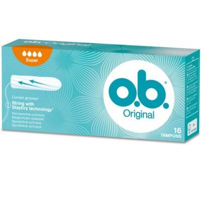 O.B. Pro Comfort Super 16 stk