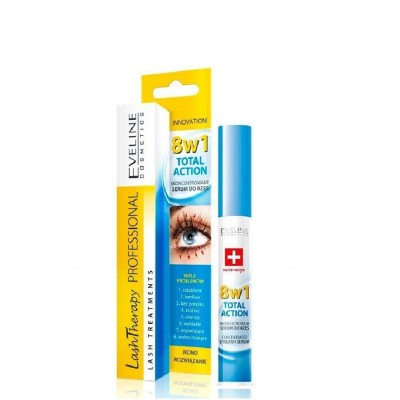 Eveline Lash Therapy 8in1 Total Action Eyelash Serum 10 ml