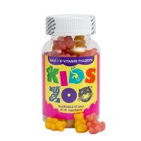 Kids Zoo Kalk + D Tyggedyr 60 stk