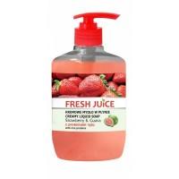 Fresh Juice Strawberry & Guava Liquid Soap 460 ml