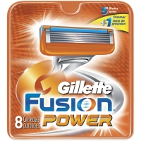 Gillette Fusion Power Barberblade 8 stk