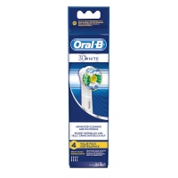 Oral-B 3D White Advanced Cleaning & Whitening 4 stk